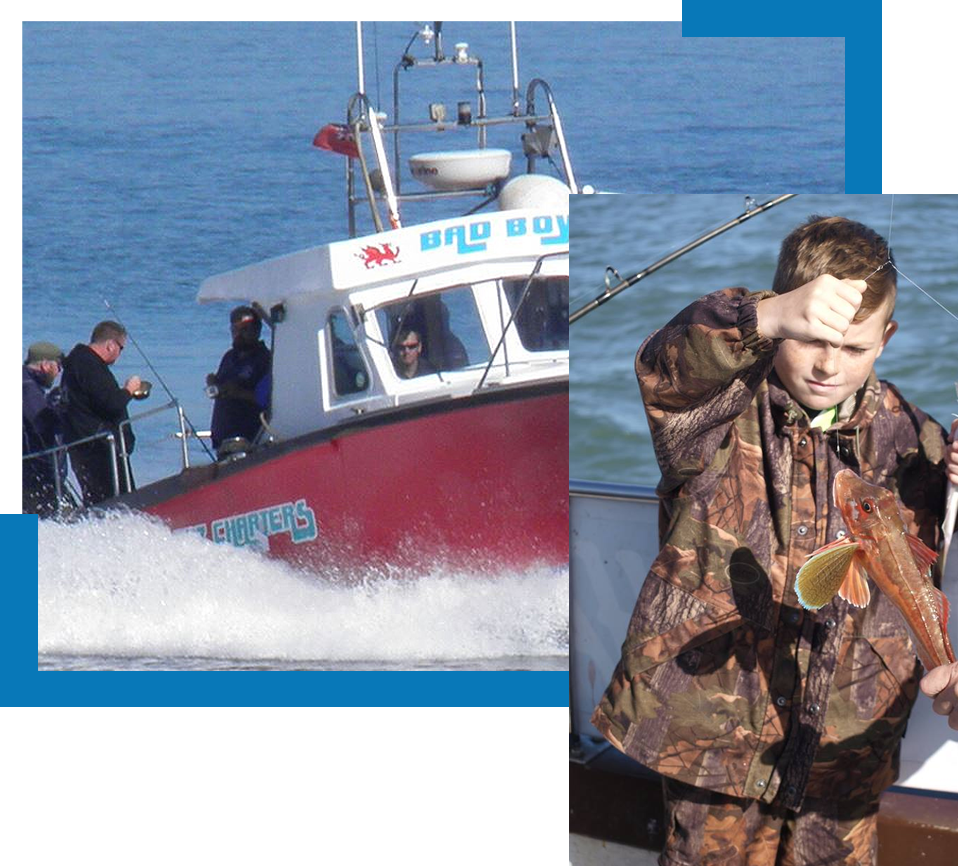 fishing trips Anglesey